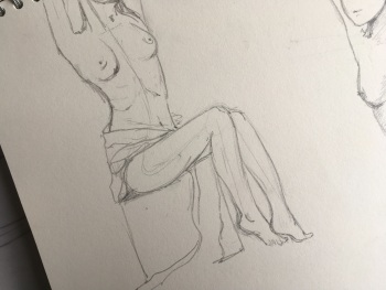 Life Drawing Sketch
