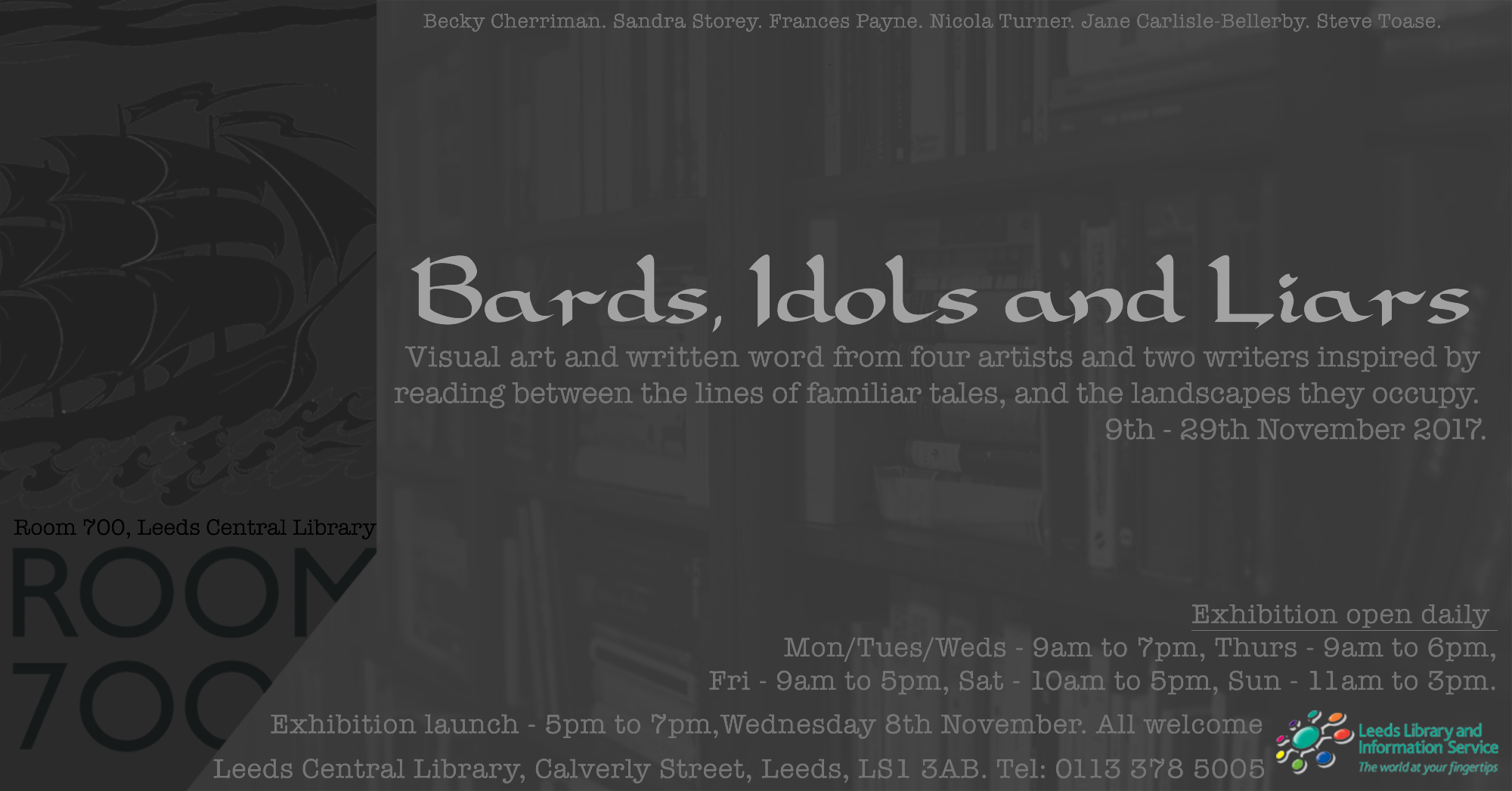 Bards, Liars and Idols Exhibition
