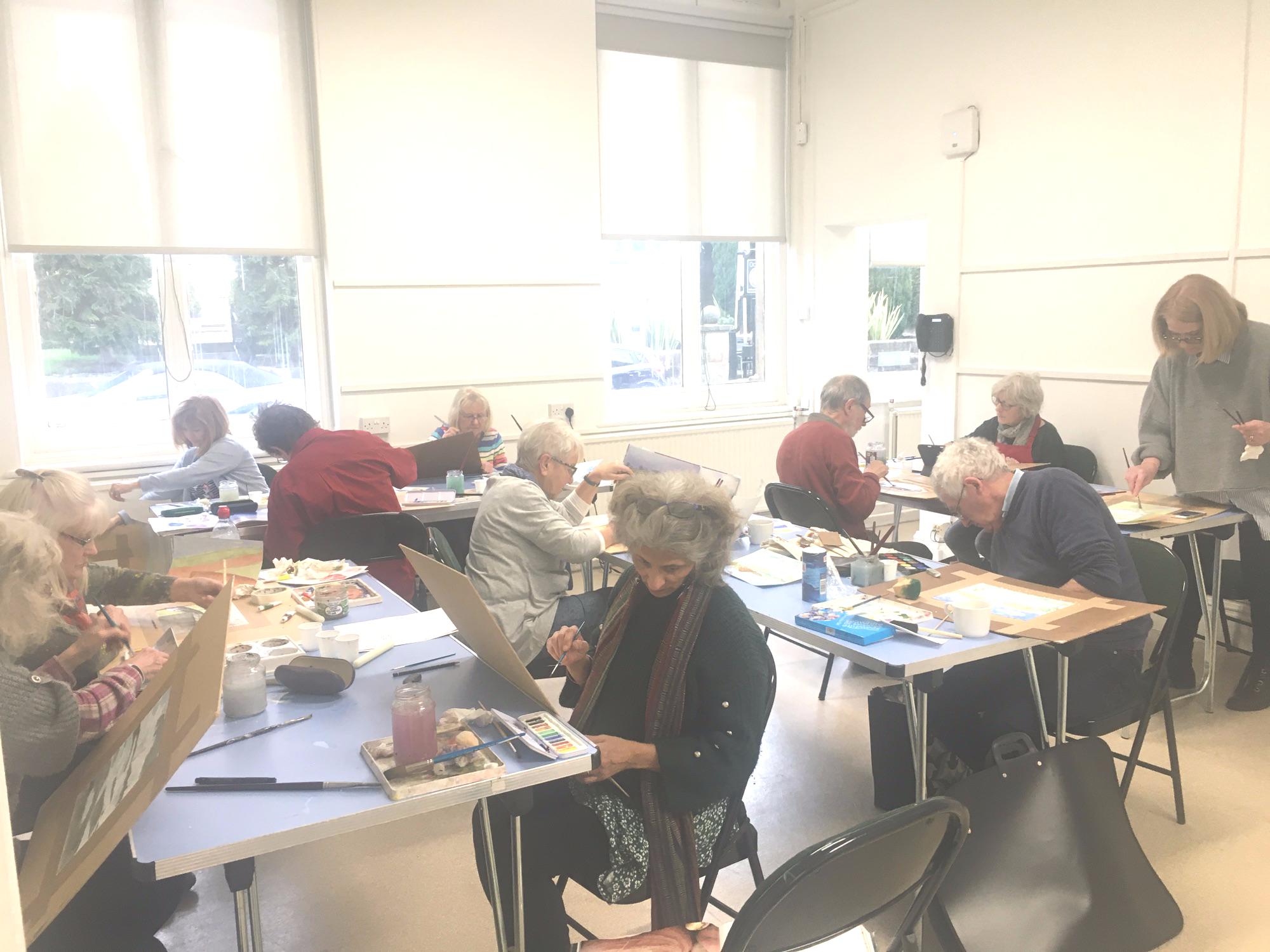 Watercolour class Harrogate