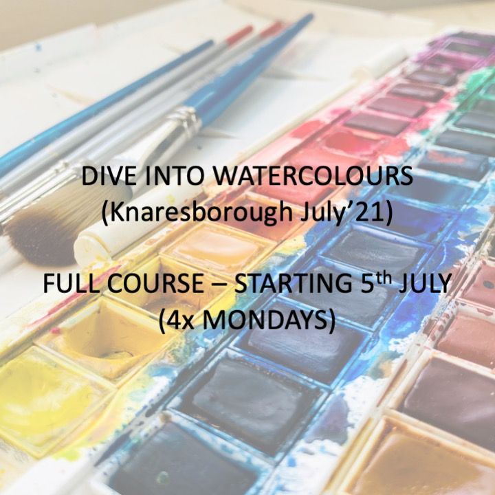 Dive into Watercolours (Hopewell Studios) July 2021