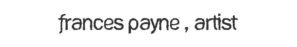 Frances Payne - Paper Artist & Illustrator, site logo.