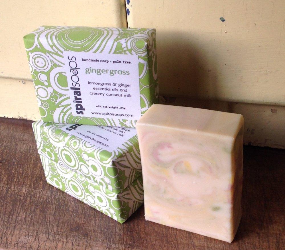 gingergrass handmade soap