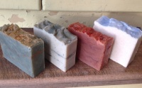 festive palm free soap