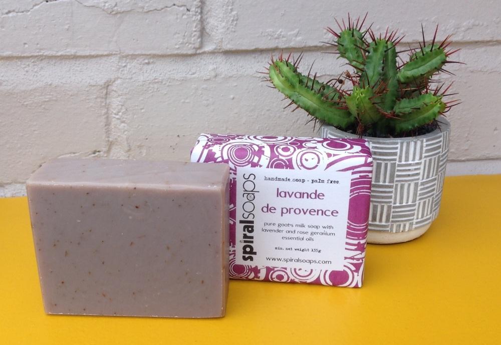 lavande de provence handmade soap