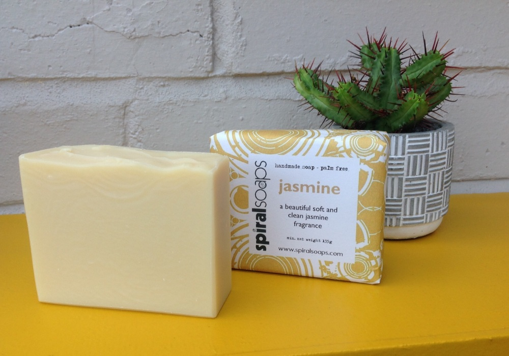 Jasmine palm oil free soap