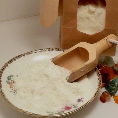 gingergrass bubbling bath crumble