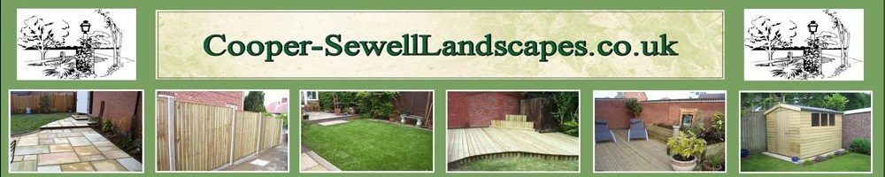 Cooper-SewellLandscapes.co.uk, site logo.