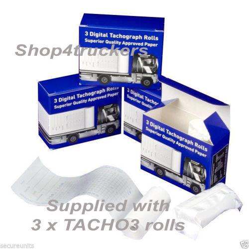 Truck HGV Digital tachograph organiser tacho holder wallet TACHO3 spare rol