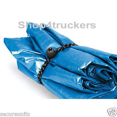Truck van car trailer bungee balls elastic cords for tarpaulins tents lugga
