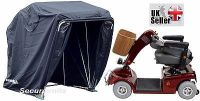Mobility Scooter storage shelter canopy cover garage lockable black standard
