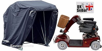 Mobility Scooter storage shelter canopy cover garage lockable black standar