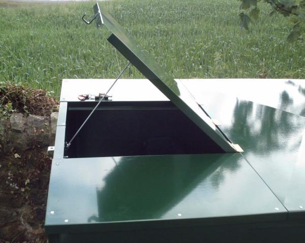 Securit Tank Guard hatch