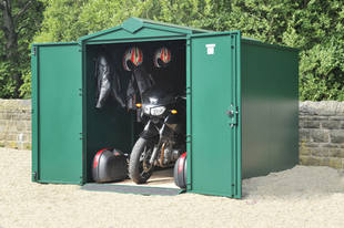 Motorcycle Garage Large (green) other colours available