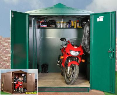 Motorcycle Garage STANDARD (green) other colours available