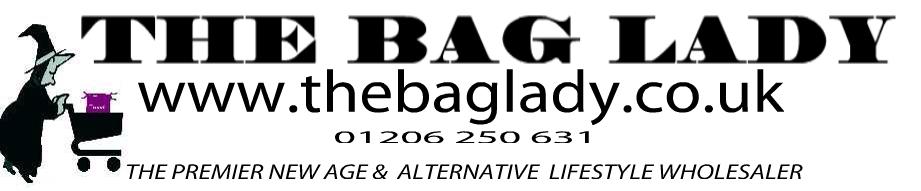 THE BAG LADY, site logo.