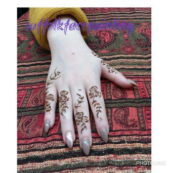 henna rose full