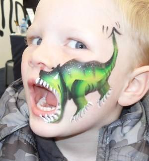 mouth dino