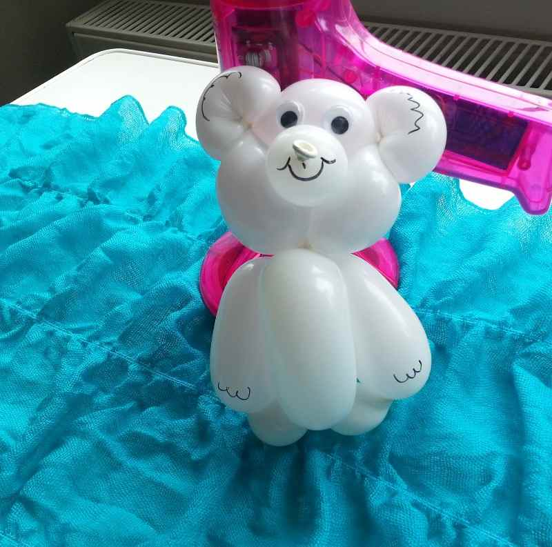 balloon white bear