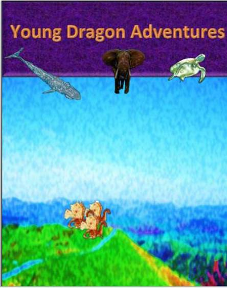 young dragon adventures front page