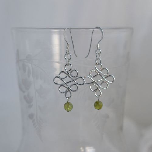 jewelart celtic earrings silver II