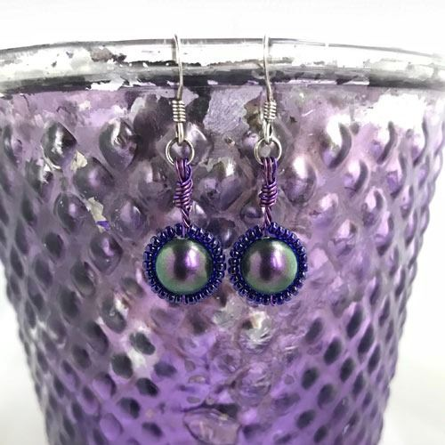 jewelart purple designs