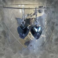 jewelart spiral earrings heart II