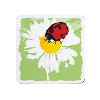 Bright Ladybird Coaster