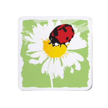 Bright Ladybird Coaster