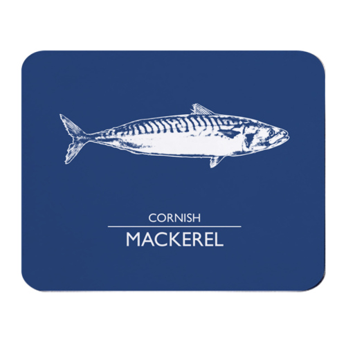 Place Mat - Cornish Mackerel