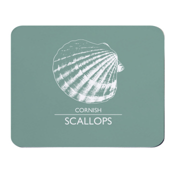 Place Mat - Cornish Scallops