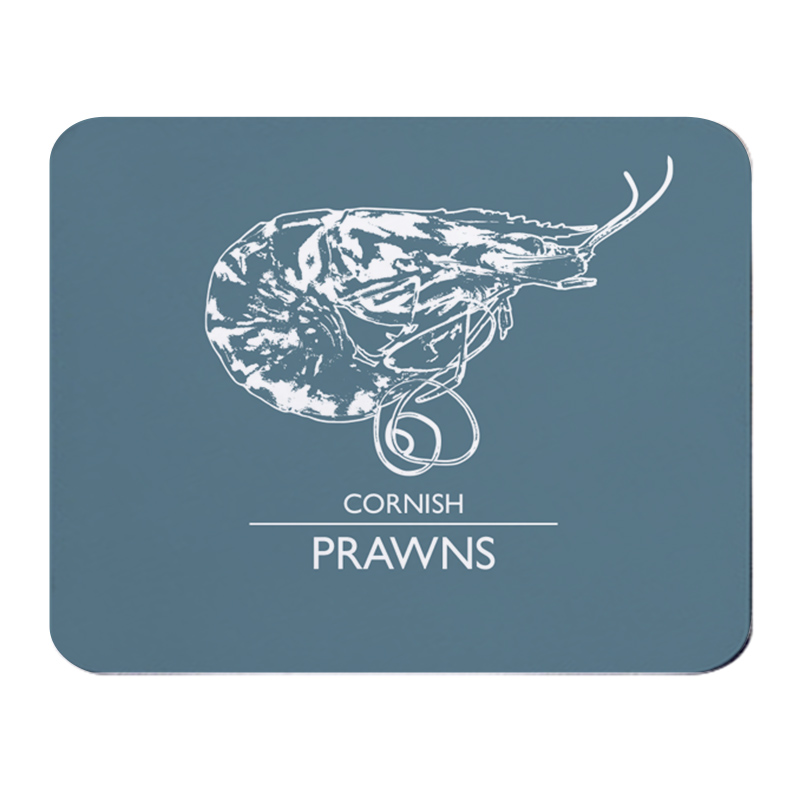 Place Mat - Cornish Prawns