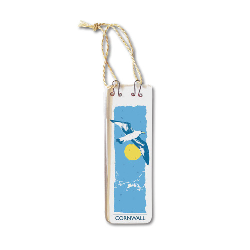 Handmade Fused Glass Hanging - Seagull