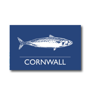 Melamine Fridge Magnet - Mackerel