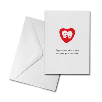 Blank Greetings Card - Best Friend
