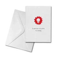 Blank Greetings Card - Amazing