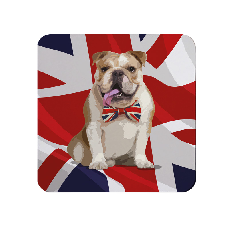British Bulldog Coaster