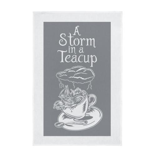 Tea Towel - A Storm in a Teacup