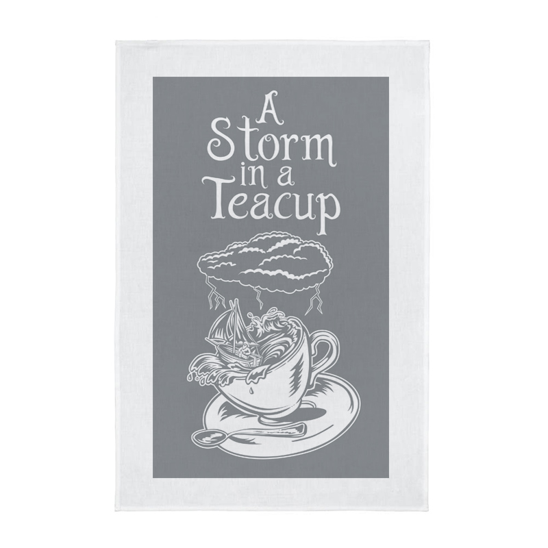 Tea Towel - A Storm in a Teacup