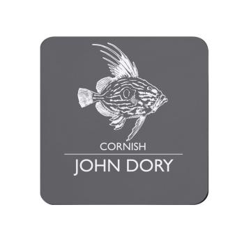 Cornish John Dory Coaster