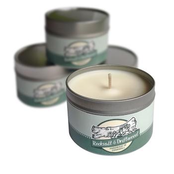 Soy Candle - Rocksalt & Driftwood