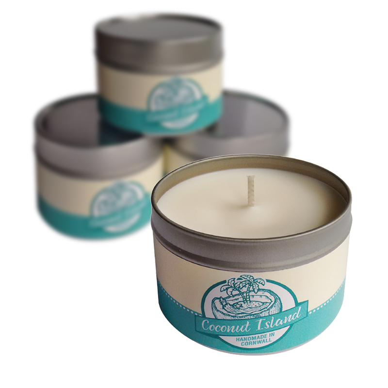 Soy Candle - Coconut Island
