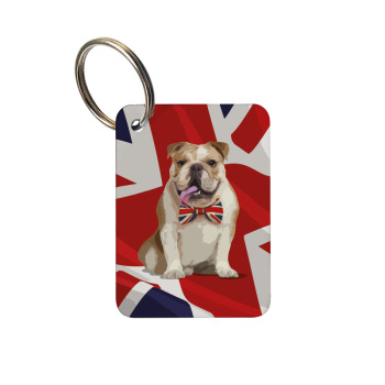 Keyring - British Bulldog