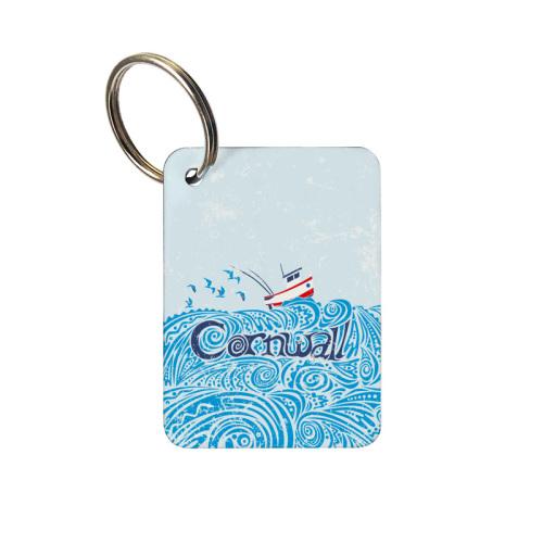 Keyring - Cornwall Boat