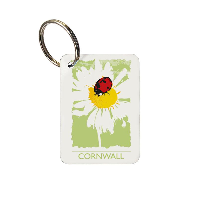 Keyring - Cornwall Ladybird