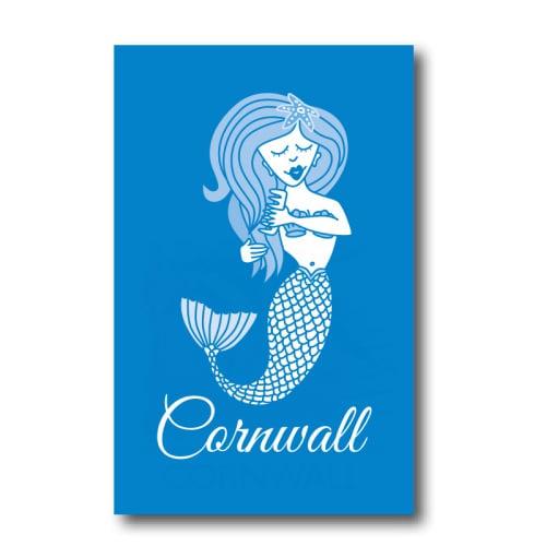 Melamine Fridge Magnet - Blue Mermaid