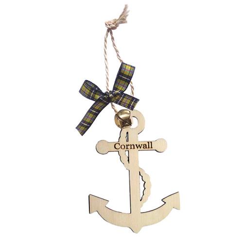 Wooden Hanging - Cornwall Anchor