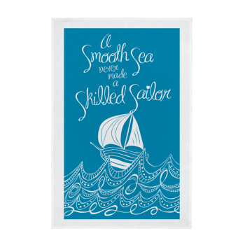 Tea Towel - A Smooth Sea