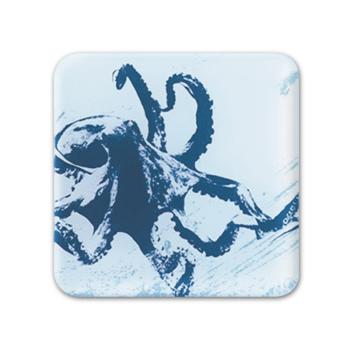 Glass Coaster - Octopus
