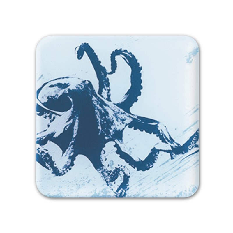 Glass Coaster - Octopus