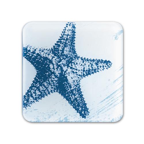 Glass Coaster - Starfish